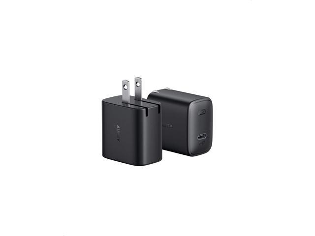 Pd Charger Usb C Charger 2 Pack 18w Foldable Fast Charger With