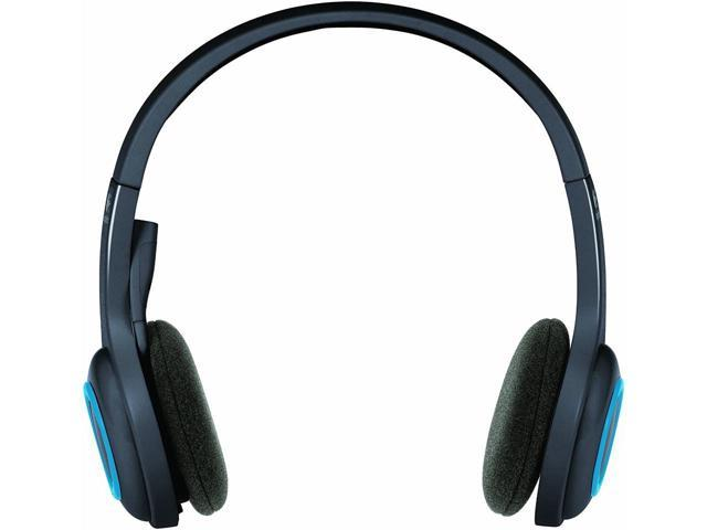 Logitech H600 2 4 Ghz Wireless Headset With Microphone Flexible Noise Cancelling Mic Mute Button Clear Sound Comfortable Wearing Headset For Office Home Business Trucker Drivers Newegg Com