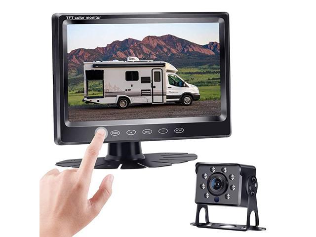 Hd 720p Backup Camera Kit With 7 Inch Touch Key Screen For