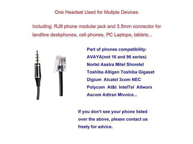 Electronics Accessories & Supplies alpha-ene.co.jp Corded RJ9 ...