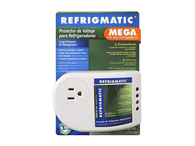 High Capacity Electronic Voltage Protector for Refrigerators and Freezers 27 Cubic Feet and UP