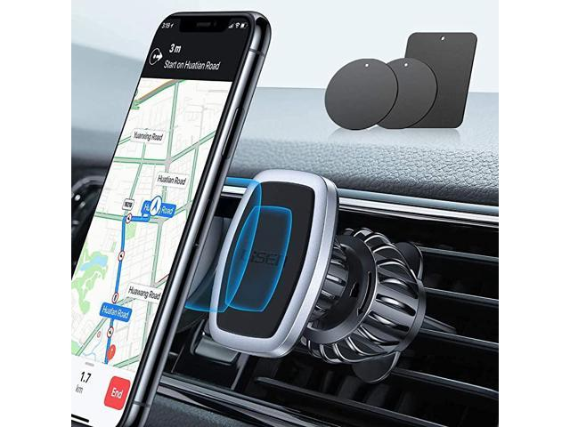 LISEN Phone Holder for Car AUTO Locking Phone Mount Car with Hook Like Clip Air Vent Car Mount Universal Mobile Phone Holder Compatible with iPhone and All Other Smart Phone