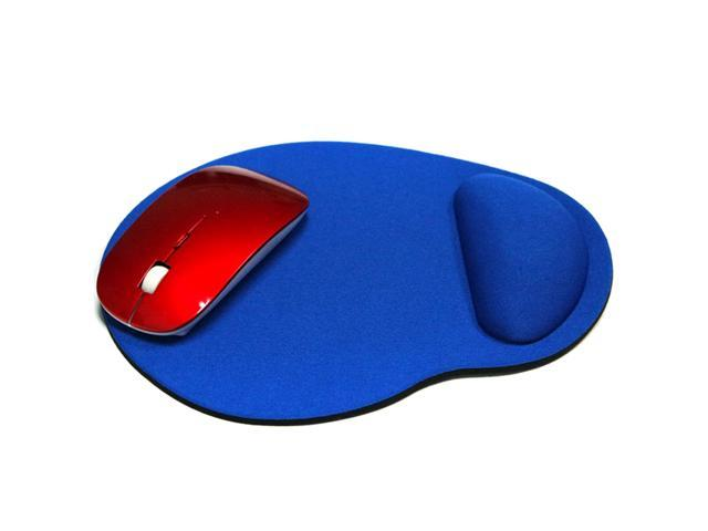 Black Mouse Pad Mat Wrist Rest Support Comfortable Soft for Table Desk 360 Care