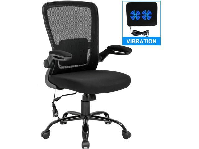 Home Office Chair Ergonomic Desk Chair Mesh Computer Chair Swivel Rolling Executive Task Chair With Lumbar Support Arms Mid Back Adjustable Chair For Women Adults Black Newegg Com