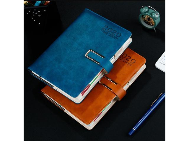 Details about  /A5 Notebook 2020 Year Time Diary 365 Days Daily Schedule Planner Notepad