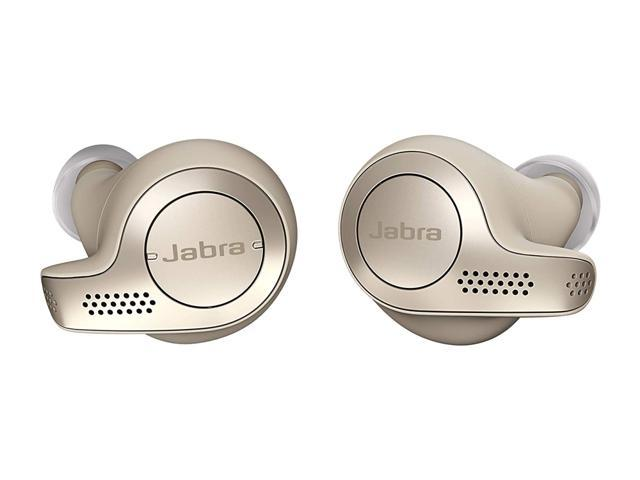 Jabra Elite 65t Earbuds True Wireless Earbuds With Charging Case Bluetooth Earbuds Engineered For The Best True Wireless Calls And Music Experience Gold Beige Newegg Com