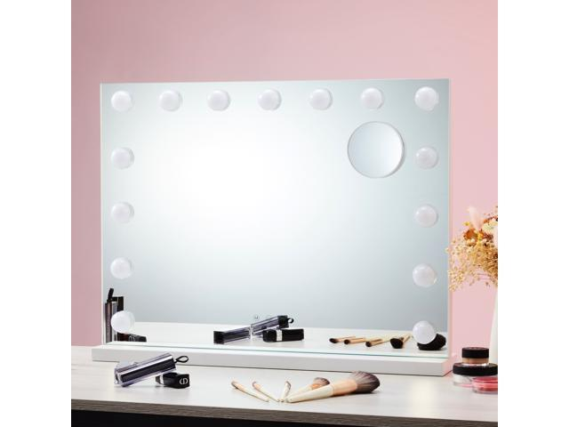 Co Z Lighted Vanity Mirror Hollywood