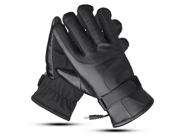 48V/60V/72V Electric Powered Touch Screen Winter Waterproof Warm Heated Motorcycle Gloves 72V