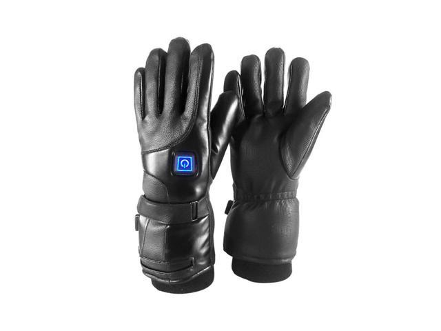 2800Mah/4000Mah Electric Heated Touch Screen Gloves Winter Warmer Motorcycle Racing Glove Waterprrof 28