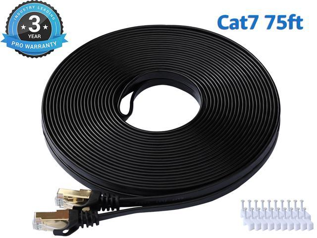Cat 7 Ethernet Cable 75 ft LAN Cable Internet Network Cord for - Sale: $24.99 USD