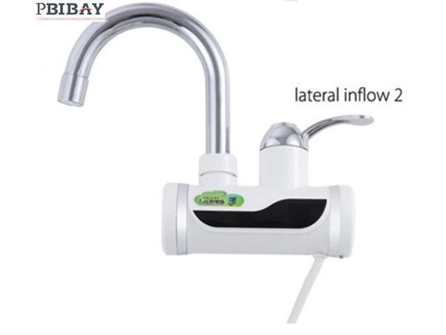 Shipping Digital Display Instant Hot Water Tap Tankless Electric Faucet Kitchen Faucet Water Heater Newegg Com