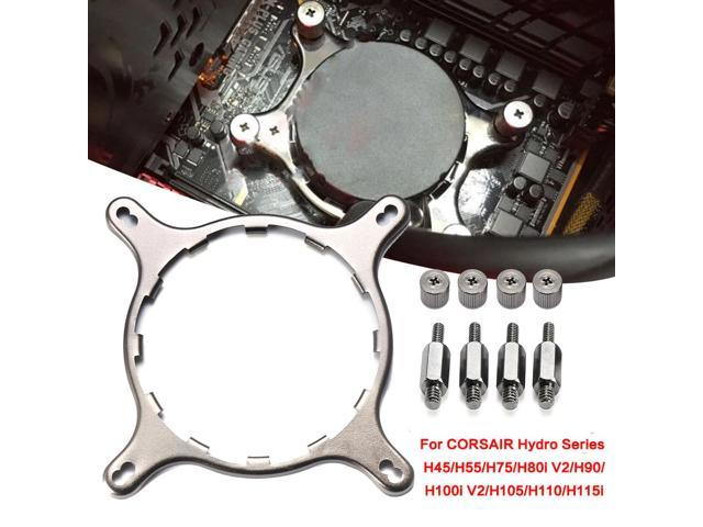 CPU Bracket Holder Cooler Mounting For CORSAIR Hydro H80i H115i GT LGA 1156