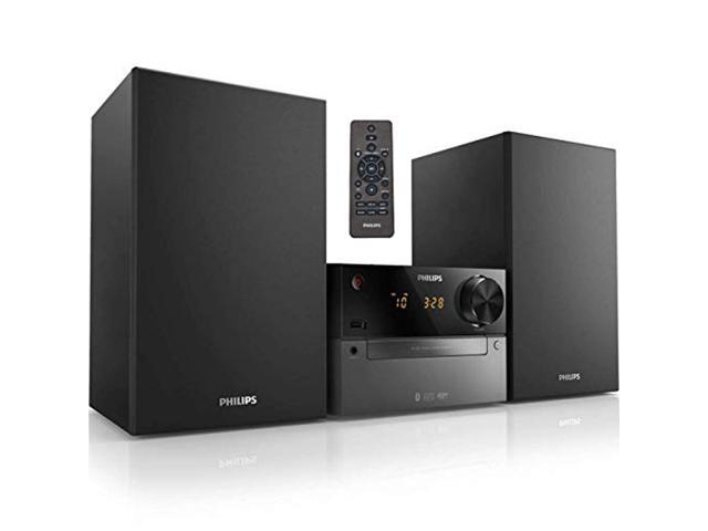 PHILIPS Bluetooth Stereo System for Home with CD Player, Wireless...