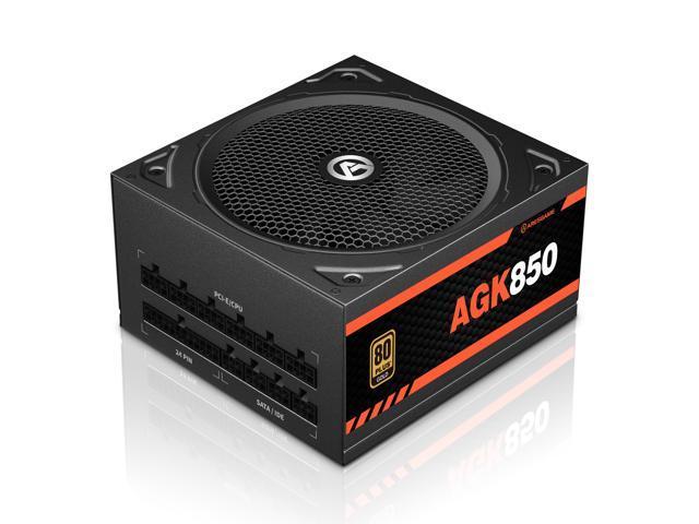 Image of ARESGAME 850W Power Supply Fully Modular 80+ Gold PSU (AGK850)