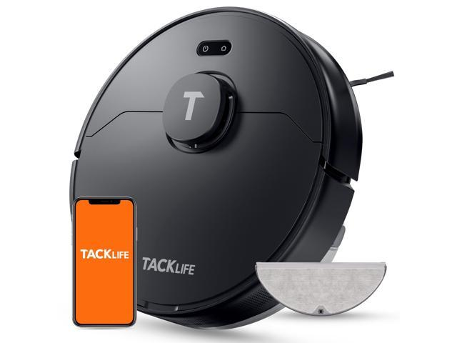 TACKLIFE S10 Pro - Robot Vacuum and Mop, LDS Lidar Mapping Robotic Vacuum Cleaner with Self-charging and Large Dustbin, APP & Alexa Voice Control, 2000Pa Strong Suction for Hardwood Floors and Carpets