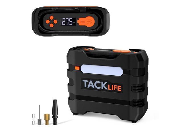 TACKLIFE A6 Tire Inflator, 12V DC Air Compressor w/ 3 LED Light Modes