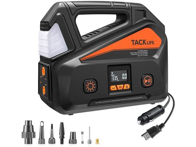 TACKLIFE A6 Plus AC/DC Tire Inflator, Portable Air Compressor