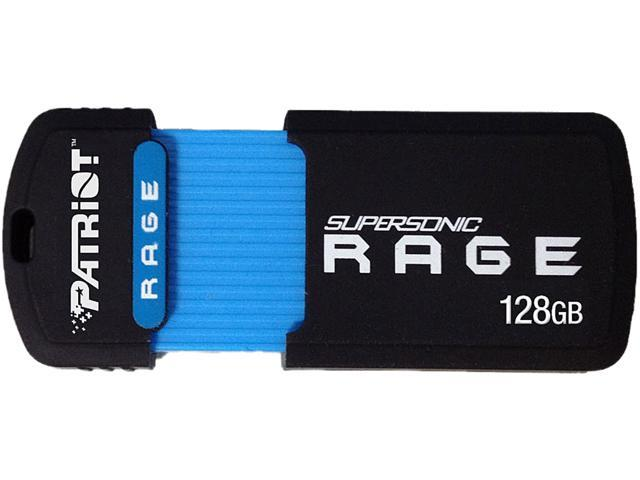 Patriot Memory 128GB Supersonic Rage USB 3.0 Flash Drive, Speed Up to 180MB/s (PEF128GSRUSB)
