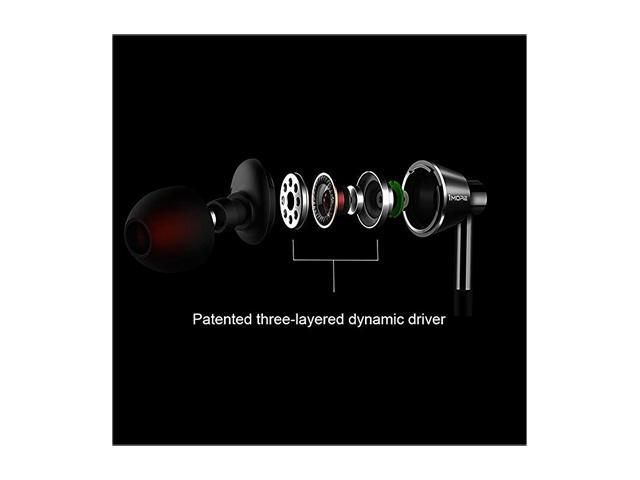 1MORE 1M301 Single Driver In-Ear Headphones with Apple iOS & Android Compatible Microphone & Remote