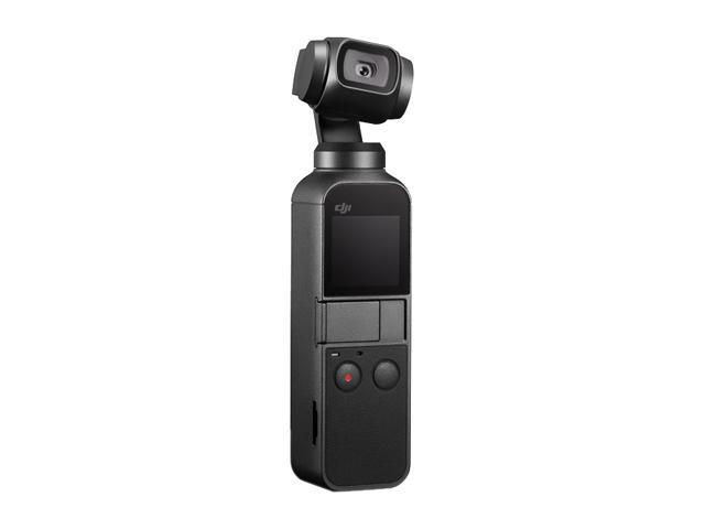DJI Osmo Pocket Handheld 3 Axis Gimbal Stabilizer with integrated Camera, Attachable to Smartphone, Android, iPhone