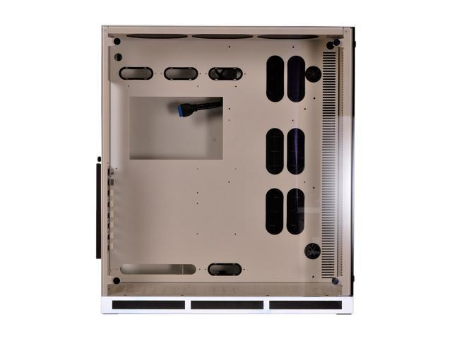 LIAN LI PC-O11WW White Aluminum / Steel ATX Mid Tower Cases (Computer Cases - ATX Form) ATX (Optional) Power Supply