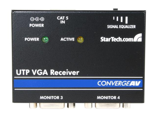 StarTech.com VGA over CAT 5 Remote Receiver ST121R for Video Extender