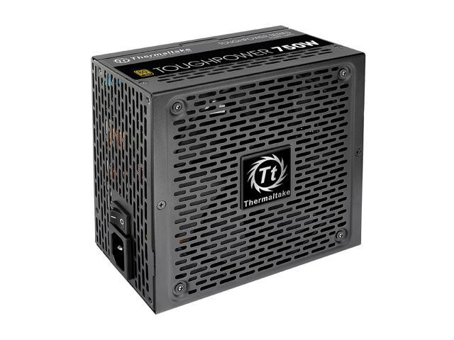 Thermaltake Toughpower TPD-0750M - SLI / CrossFire Ready 80 PLUS Gold Certification and Semi Modular Cables Black Active PFC Power Supply Intel Haswell Ready (PS-TPD-0750MPCGUS-1)