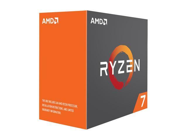 AMD RYZEN 7 1800X 8-Core 3.6 GHz (4.0 GHz Turbo) Socket AM4 95W YD180XBCAEWOF Desktop Processor