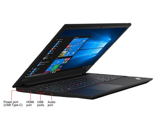 "Lenovo Laptop ThinkPad E590 (20NB005MUS) Intel Core i5 8th Gen 8265U (1.60 GHz) 4 GB Memory 500 GB HDD Intel UHD Graphics 620 15.6"" Windows 10 Pro 64-bit"