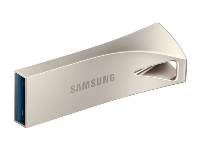 SAMSUNG 128GB BAR Plus (Metal) USB 3.1 Flash Drive, Speed Up to 300MB/s (MUF-128BE3/AM)