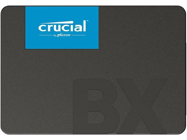 "Crucial BX500 2.5"" 240GB SATA III 3D NAND Internal Solid State Drive (SSD) CT240BX500SSD1"