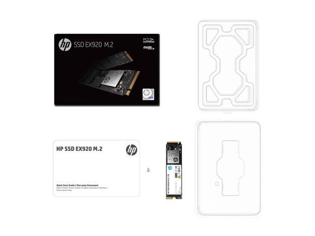 HP EX920 M.2 512GB PCIe 3.0 x4 NVMe 3D TLC NAND Internal Solid State Drive (SSD) 2YY46AA#ABC