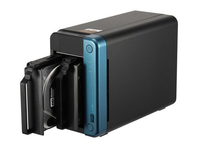 QNAP TS-253Be-4G-US (4GB RAM Version) 2-Bay Professional NAS. Intel Celeron J3455 Quad-core CPU Hardware Encryption