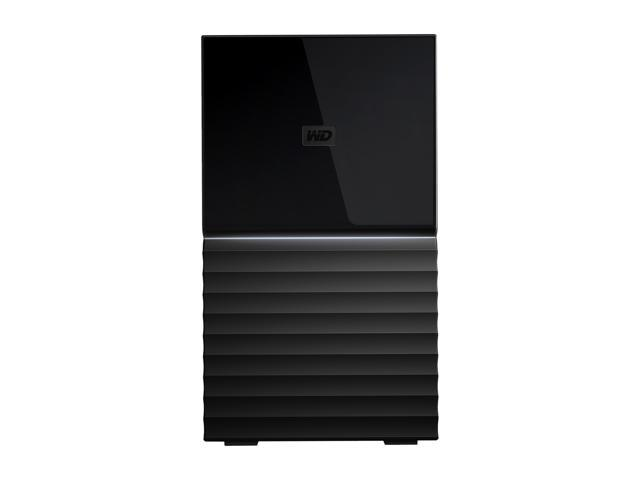 WD 20TB My Book Duo Desktop RAID External Hard Drive - USB 3.1 - WDBFBE0200JBK-NESN