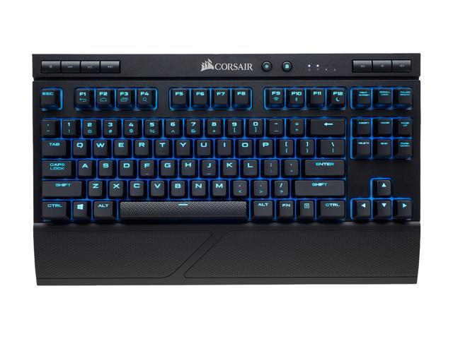 CORSAIR K63 Wireless Special Edition Mechanical Gaming Keyboard, Backlit Ice Blue LED, Cherry MX Red