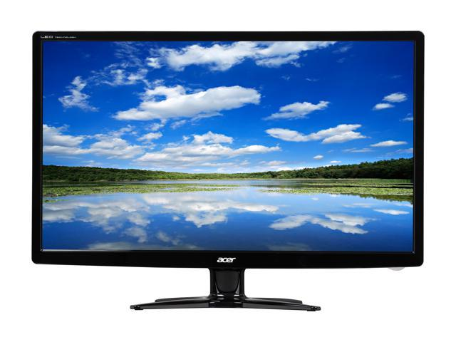 "Acer G6 Series G246HL Black 24"" TN 5ms (GTG) 60 Hz Widescreen LED/LCD Monitor 1920 x 1080 FHD,Slim Profile Design, Acer eColor Technology, and Eco-Friendly"