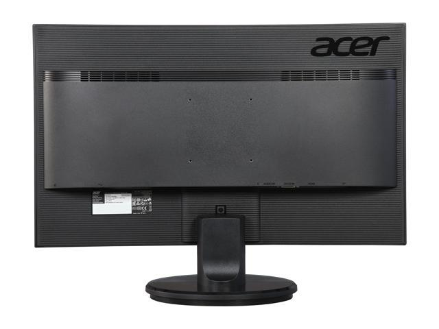 "Acer K2 Series K272HUL 27"" WQHD 2560 x 1440 (2K) TN 1ms (GTG) Black LED Backlight LCD Monitor, at 60 Hz Refresh Rate, Eco Friendly Design, Visual Comfortable and Build in Speakers"