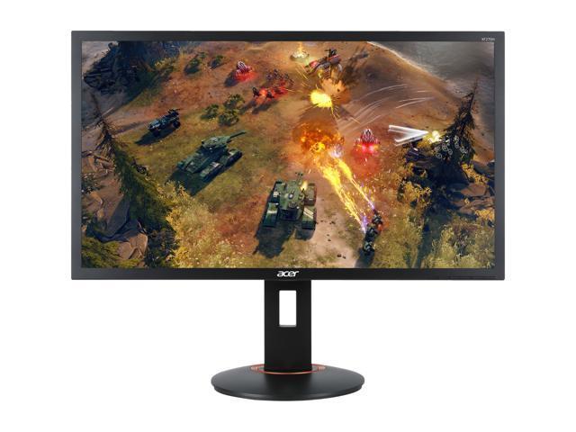 "Acer XF270H Abmidprzx Black 27"" Full HD Gaming Monitor, 240Hz, 1ms (GTG), AMD FreeSync, Height & Pivot Adjustment, Built-in Speakers, HDMI 2.0, DisplayPort, USB 3.0x4"