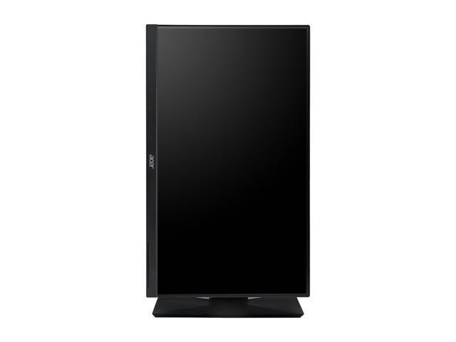 "Acer CB271HU bmidprx 27"" IPS 2K/QHD 2560x1440 4ms(GTG) Monitor, 100% sRGB, DVI, HDMI, DisplayPort, Speakers, Height Adjustable, VESA Mountable"