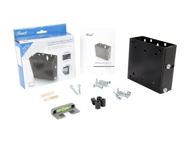 """Rosewill RHMS-11004 - 13"""" - 27"""" Flat-Panel Monitor Tilt Mounting Kit"""
