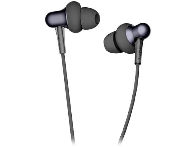 1MORE Stylish Dual-dynamic Driver In-Ear Headphones Comfortable Lightweight Earphones with 4 Fashion Colors, Noise Isolation, MEMS Mic and In-Line Remote Controls for Smartphones/PC/Tablet - Black