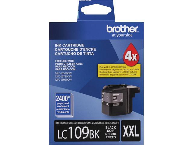 Brother LC109BK Super High Yield Innobella Ink Cartridge - Black