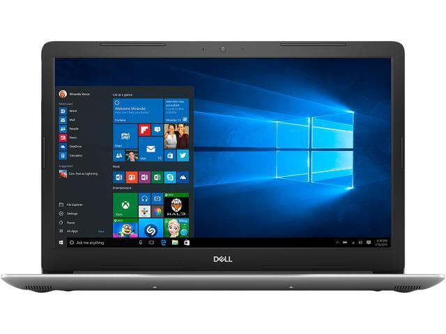 "DELL Laptop Inspiron 15 5570 i5570-7279SLV Intel Core i7 8th Gen 8550U (1.80 GHz) 8 GB Memory 256 GB SSD Intel UHD Graphics 620 15.6"" FHD 1920 x 1080 Windows 10 Home 64-bit"