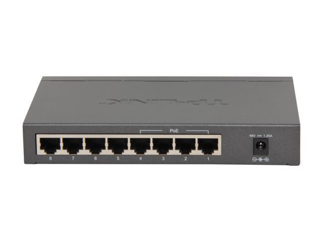 TP-Link TL-SG1008P Unmanaged 8-Port Gigabit Desktop Switch with 4-Port PoE