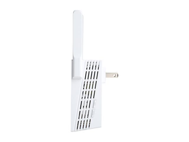TP-LINK RE210 AC750 Universal Wi-Fi Wall Plug Gigabit Range Extender with External Antennas
