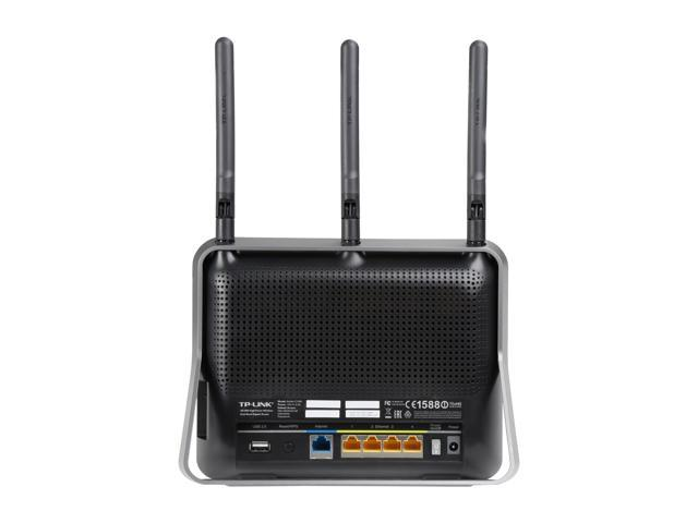 Refurbished: TP-Link AC1900 High Power Wireless Wi-Fi Gigabit Router, Ideal for Gaming