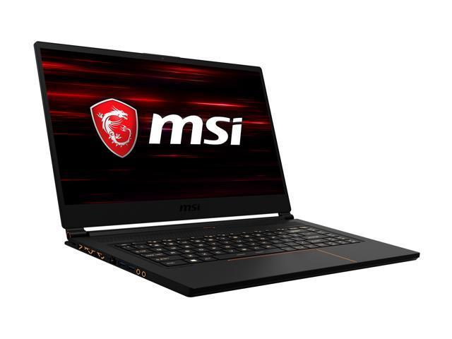 "MSI GS65 Stealth-004 15.6"" 144 Hz Intel Core i7 8th Gen 8750H (2.20 GHz) NVIDIA GeForce RTX 2070 16 GB Memory 256 GB NVMe SSD Windows 10 Pro 64-bit Gaming Laptop"