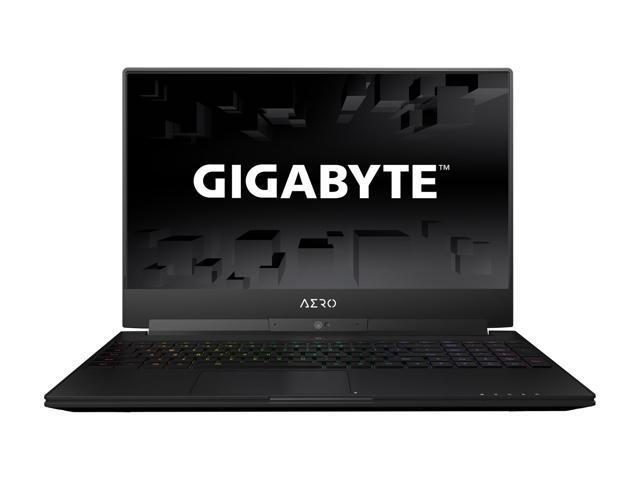 """GIGABYTE Aero 15W v8-BK4 15.6"""" Thin Bezel 144 Hz GTX 1060 6 GB VRAM i7-8750H 16 GB Memory 512 GB SSD Windows 10 Home Gaming Laptop"""