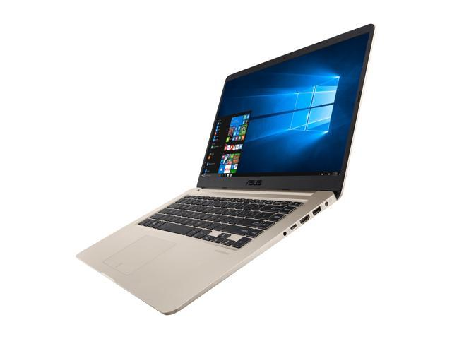 "ASUS VivoBook S510UN-EH76 15.6"" Full HD Thin and Portable Laptop, Intel Core i7-8550U 1.8 GHz Processor, NVIDIA GeForce MX150 2 GB, 8 GB DDR4 RAM, 256 GB M.2 SSD + 1 TB HDD, Windows 10 Signature Edition, ASUS NanoEdge Display"