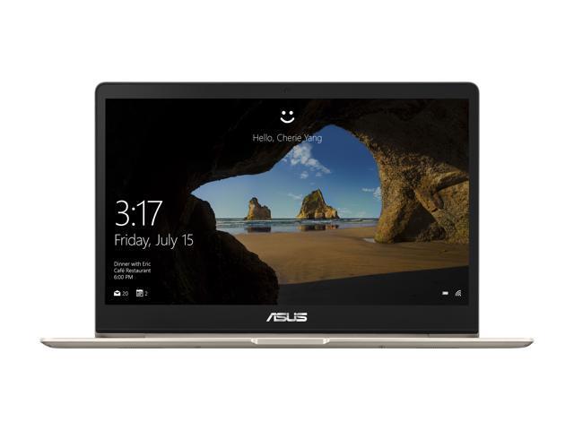 "ASUS ZenBook 13 UX331UA-DS71 Ultra-Slim Laptop 13.3"" Full HD WideView Display, 8th Gen Intel Core i7-8550U Processor, 8 GB LPDDR3, 256 GB SSD, Windows 10, Backlit keyboard, Fingerprint, Icicle Gold"